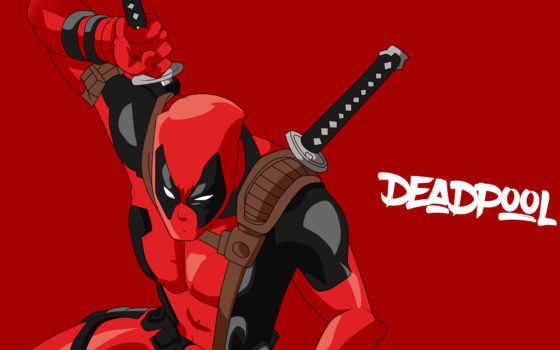 deadpool, minimal, marvel, comics, artwork, desktop,