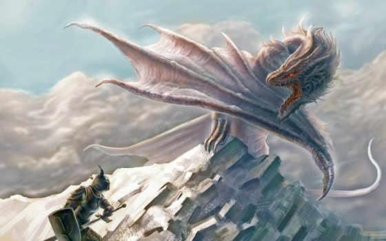 дракон, воин