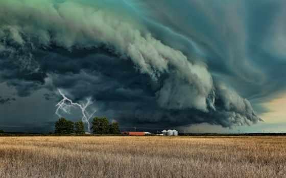 торнадо, разряд, lightning