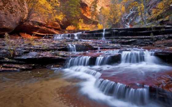 природа, desktop, high, water, ручей, заводь,