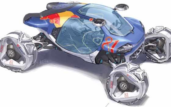 design, challenge, будущего, автомобили, angeles, los, гоночные, volkswagen, года,