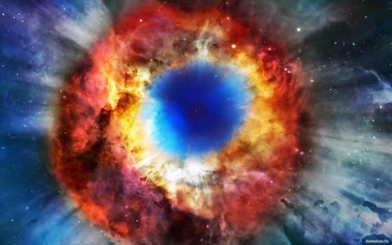cosmos, яркий, свет, bang,