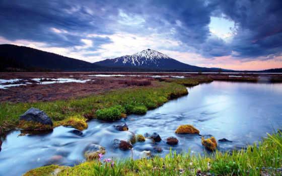 горные, пейзажи -, горы, холостяк, только, живем, you,