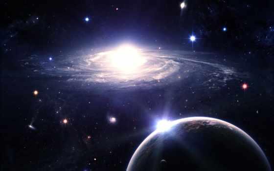 galaxy, planet