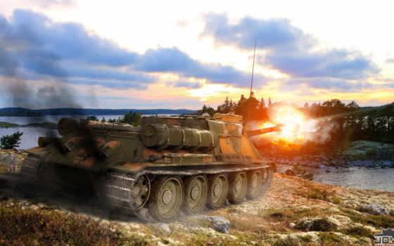 су-85, выстрел