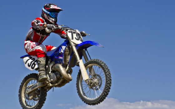 мотоцикл, мотокросс, спорт