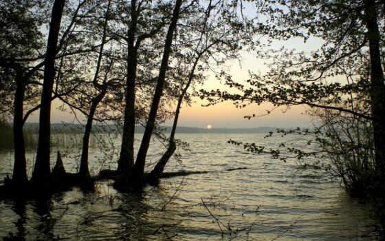 reservoir, горизонт, water