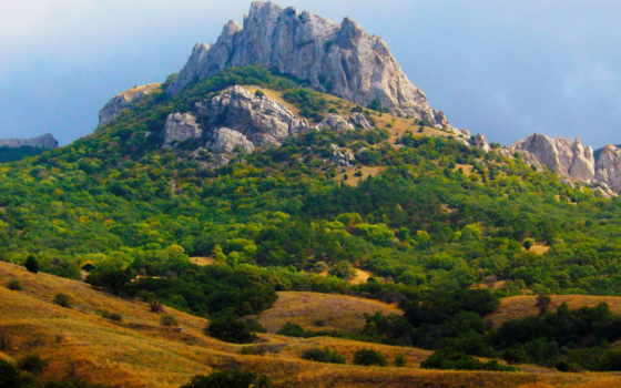 природа, крым, горы