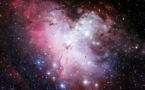 cosmos, hubble, nebula, telescope, звезды, орлан,
