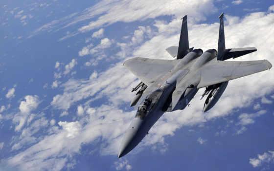 военный, истребитель, самолёт, реактивный, air, airborne, сила,