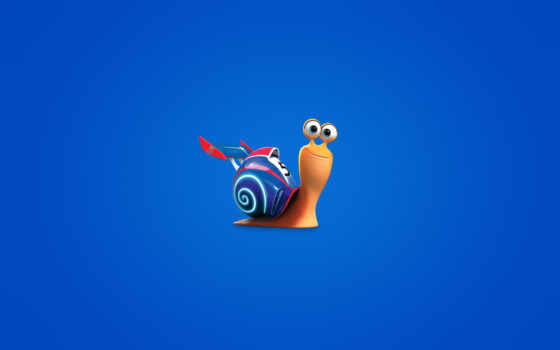 минимализм, snail, turbo, blue