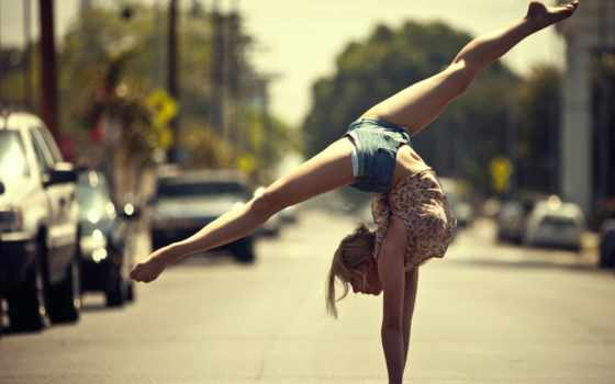 танцы, улицах