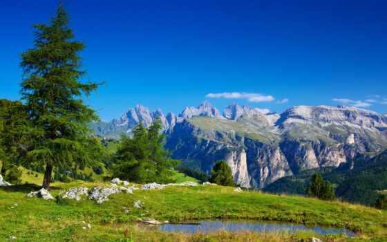 альпы, горы, швейцария
