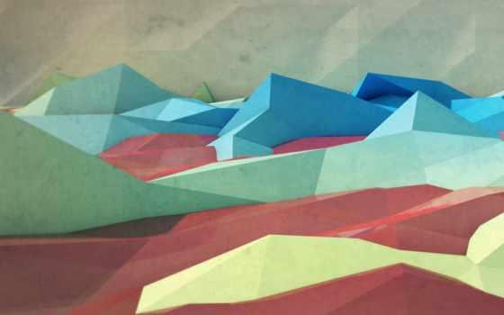 горы, треугольники