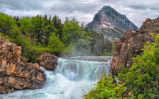 горные, красоты, календари, водопад, природа, мар, горы, горах, февр, назад, названию,
