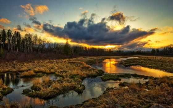 природа, мама, пейзажи -, закат, страница,
