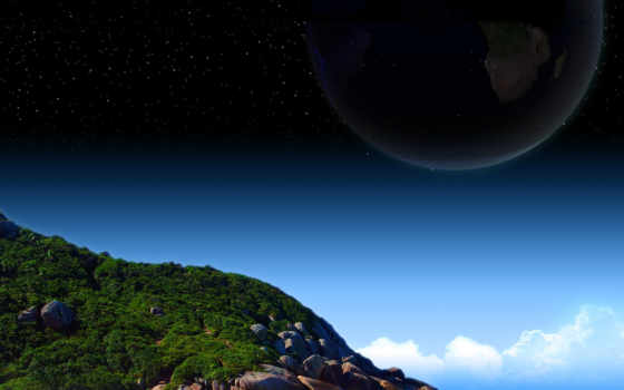 planets, space Фон № 7130 разрешение 1920x1080