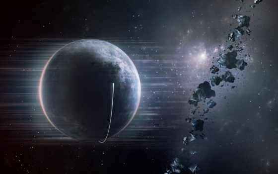 планета, астероиды Фон № 24471 разрешение 1920x1080