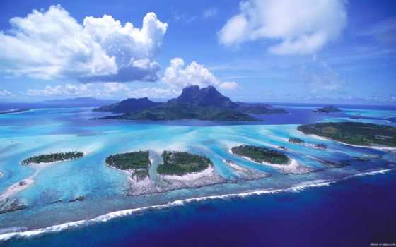 острова, красиво