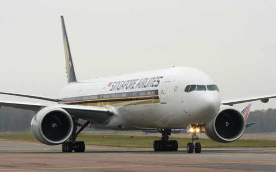 boeing, боинг, самолёт, airlines, лайнер, singapore,