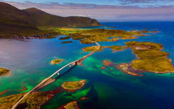 острова, лофотенские, норвегия,
