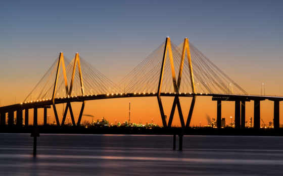 мост, hartman, фред, сша, texas, хартмана,