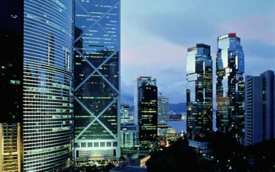hong, город, экскурсия, китаянка, мегаполис, высотные, стены, стеклянные, здания, мегаполисов, большой,
