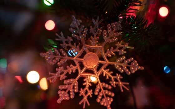 christmas, new, орнамент, экран, parallax, garland, high, снежинка, cute
