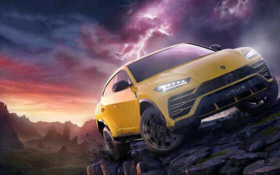 горизонт, forza, ultimate, game, receive, который, yellow, car