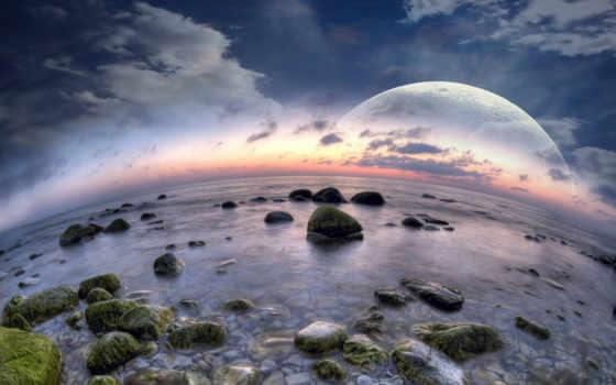 пляж мечтательный мир