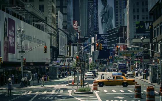 york, город, new