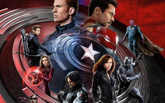 captain, america, civil, war, мужчина, iron, команда,