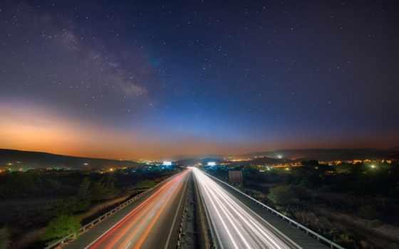 небо, звездное, ночь