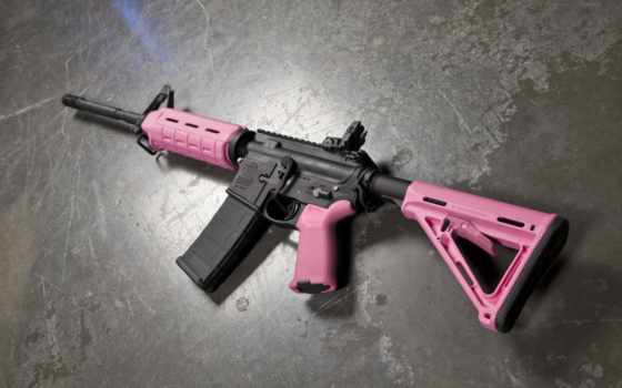 pink, guns, defense
