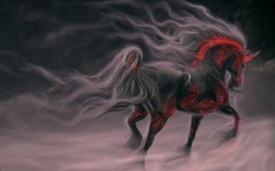 darkness, fog, gothic