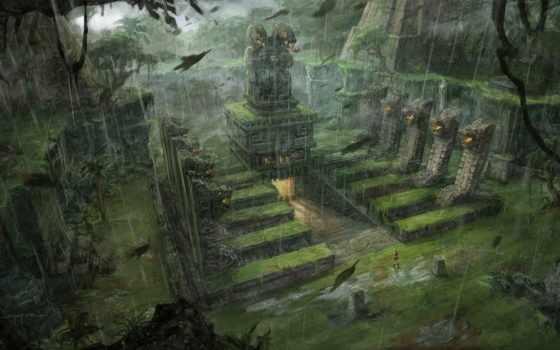 храм, tomb, art