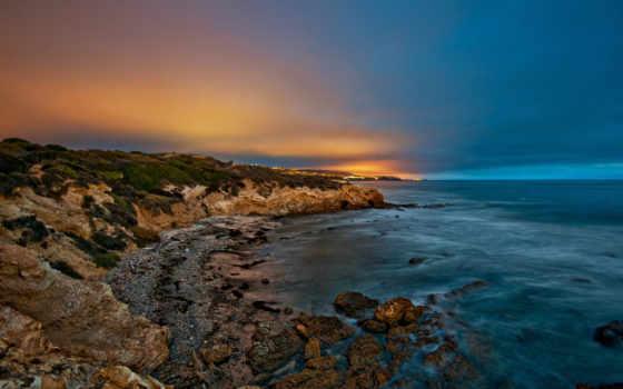 природа, море, картинка