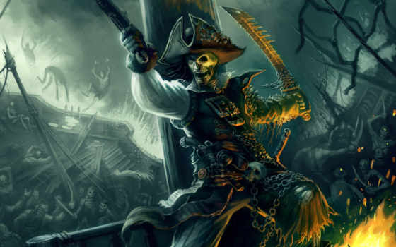 карибского, пираты, моря, pirates, more, caribbean,