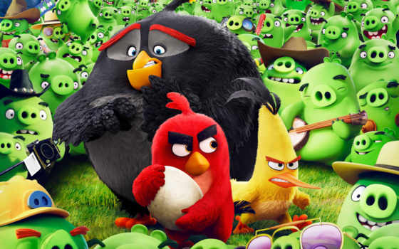 birds, angry, movie, мультфильмы,
