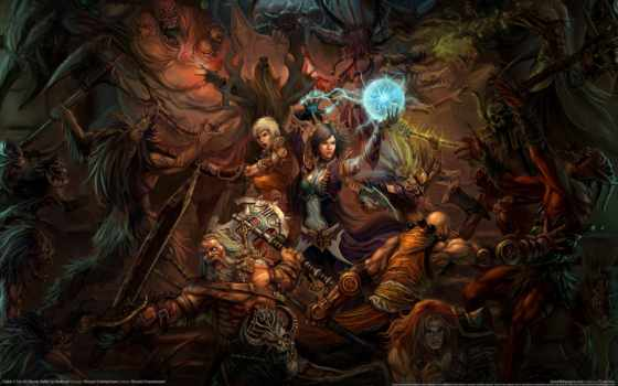 art, diablo, phan, битва, pinterest, магия, search, fantasy,