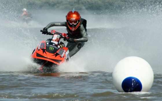 водный, мотоцикл, водных
