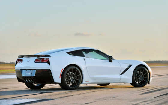 corvette, hennessey, stingray, hpe, chevrolet,