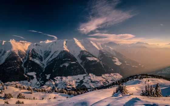 fiesch, швейцария, альпы, mountains, ёль, снег, winter, swiss,