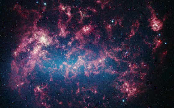 stars, image, view, have, space, hubble, outer, large, cloud, nasa, nebulae, telescope, shows, spitzer, magellanic,
