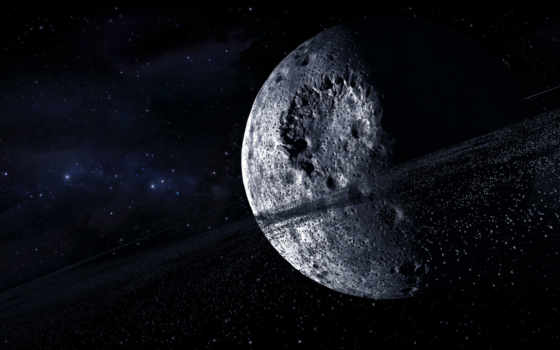 космос, звезды, астероиды, планета, multi, monitors, кратеры, картинку, изображение,