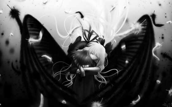 anime, black Фон № 27658 разрешение 1920x1080