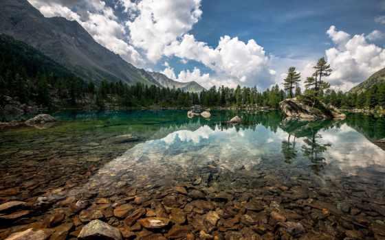 suisse, озеро, природа, fonds, ecran, fond, lakes, lago, взгляд, paintings,