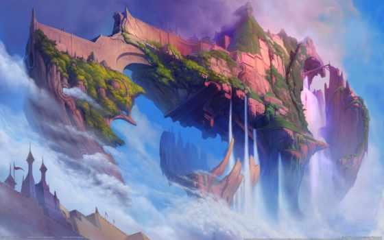 fantasy, страница, коллекция, остров, дракон, online, игры, ether, загружено, сага,