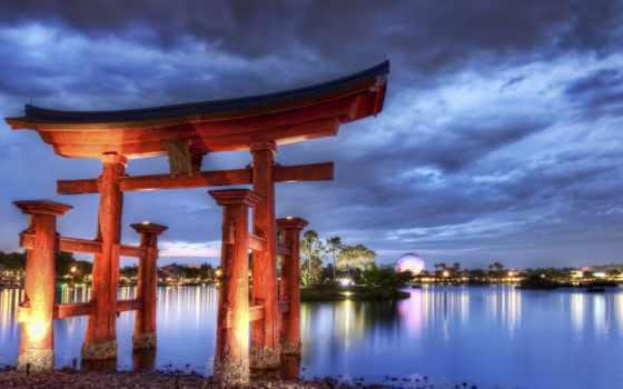 китаянка, арка, ipad, architecture, вечер, снег, китая, пагода, страница, город,