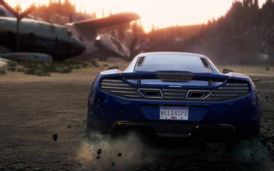 скорость, need, самый, wanted, mclaren, nfs, rivals,